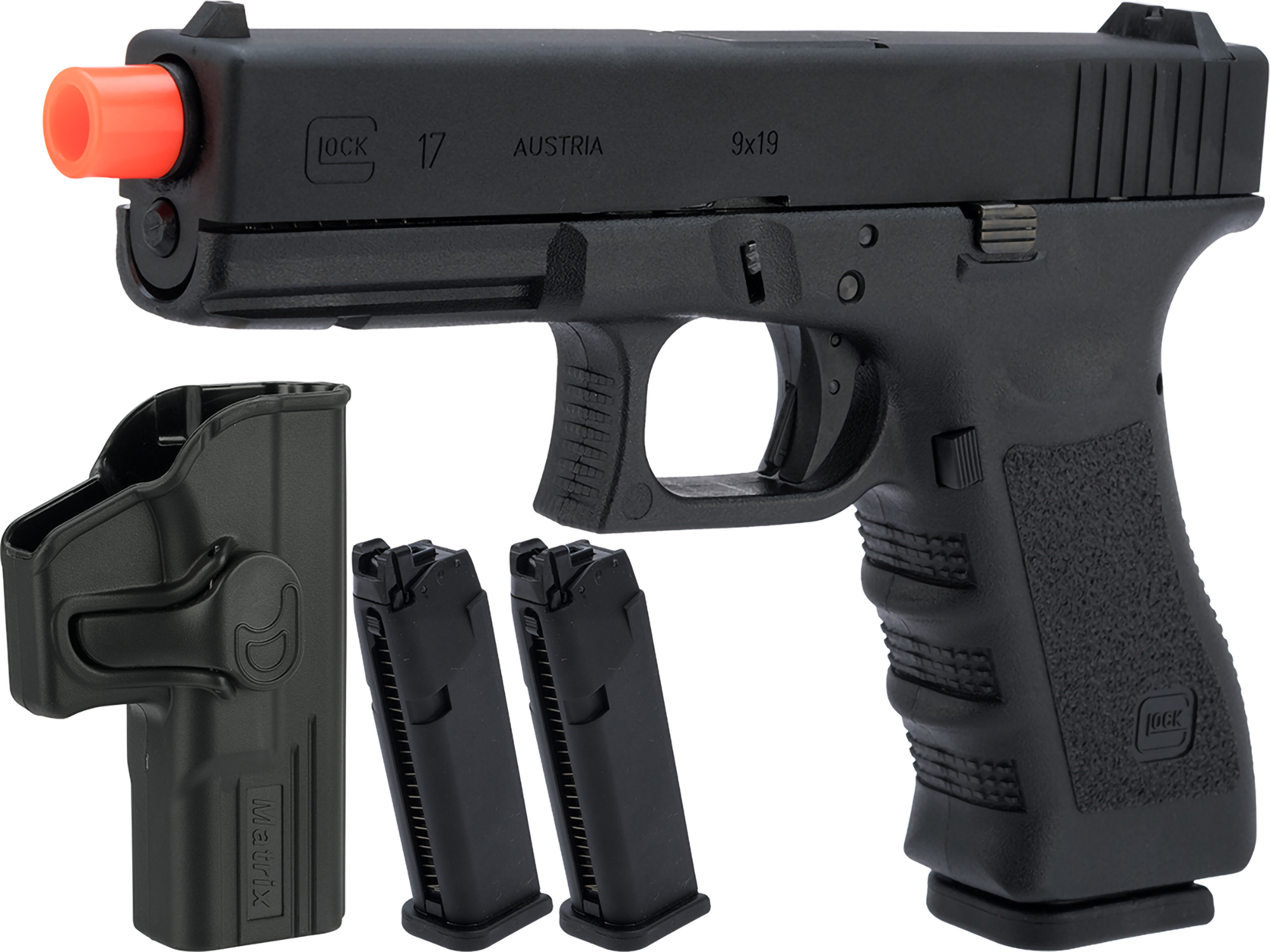Elite Force Fully Licensed GLOCK 17 Gen.3 Gas Blowback Airsoft Pistol (Type: Green Gas)