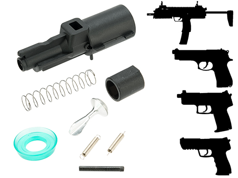 Elite Force Airsoft Gas Gun Rebuild Kit (Model: HK MP7)