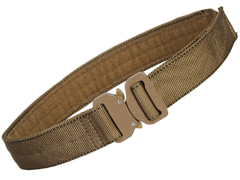 EmersonGear Heavy Duty Riggers Belt with Cobra Buckle (Color: Coyote / Large / 1.5)