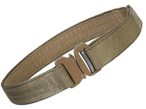 EmersonGear Heavy Duty Riggers Belt with Cobra Buckle (Color: Khaki / Medium / 1.5)