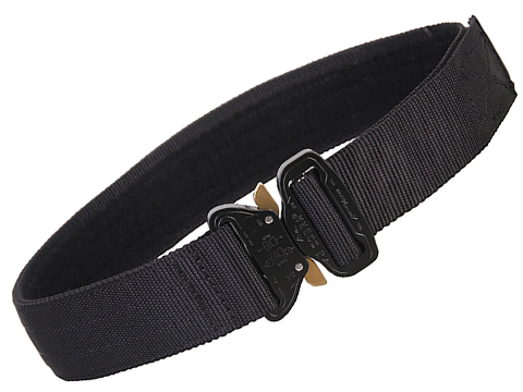 EmersonGear Heavy Duty Riggers Belt with Cobra Buckle (Color: Black / Large / 1.75)