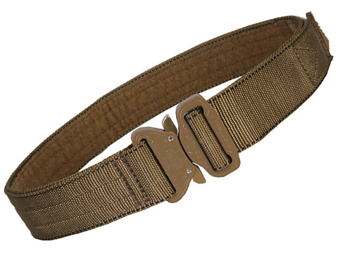 EmersonGear Heavy Duty Riggers Belt with Cobra Buckle (Color: Coyote / Medium / 1.75)