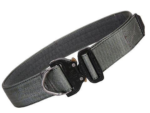 EmersonGear Heavy Duty Riggers Belt with Cobra Buckle (Color: Foliage Green / Medium / 1.75 / D-Ring)