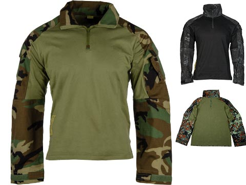 1/4 Zip Tactical Combat Shirt