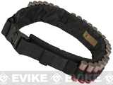 Emerson Tactical Shotgun Shell Belt / Bandoleer - Black