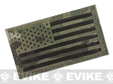 Avengers IR Reflective American Flag Patch - Left (Camo)