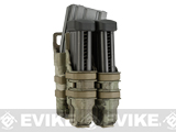 Avengers Fast Hard Shell Magazine Holster - 1x Rifle 2x Pistol Configuration (Color: Arid Camo)