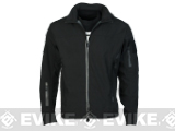 Emerson Outdoor Tactical Lightweight Softshell Jacket - Black