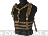 Avengers Tactical Low Profile MOLLE Chest Rig System - Camo