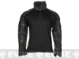 1/4 Zip Tactical Combat Shirt (Color: Urban Serpent / Small)
