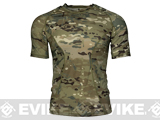 Emerson Skin-tight Base Layer Camo Outdoor Sports Running Shirt - Camo (Size: Medium)
