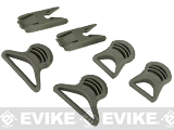 Emerson Goggle Swivel Clips Set for Bump Helmet (Color: Foliage Green)