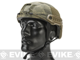 Emerson Bump Type Tactical Airsoft Helmet (BJ Type / Basic / Arid Camo)