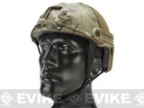 Emerson Bump Type Tactical Airsoft Helmet (MICH Ballistic Type / Basic / Camo)