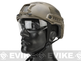 Emerson Bump Type Tactical Airsoft Helmet w/ Flip-down Visor (Type: BJ / Basic / Navy Seal)
