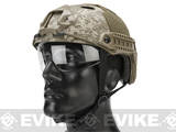 Emerson Bump Helmet w/ Flip-down Retractable Visor (PJ Type / Desert Marpat)