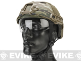 Emerson Bump Helmet w/ Flip-down Retractable Visor (PJ Type / Military Camo)