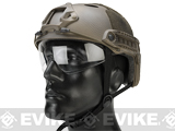 Emerson / Lancer Bump Helmet w/ Flip-down Retractable Visor (PJ Type / Navy Seal)