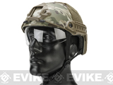 Emerson Bump Type Tactical Airsoft Helmet w/ Flip-down Visor (Type: MICH Ballistic / Basic / Camo)