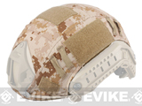 Emerson Tactical Helmet Cover for Bump Type Airsoft Helmets (Color: Digital Desert)
