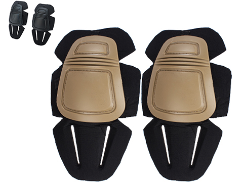EmersonGear Knee Pad Set for Gen 2 / 3 Combat Pants (Color: Tan)