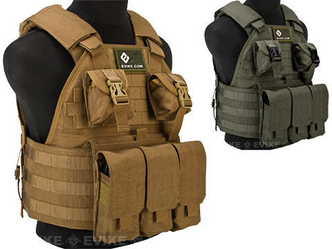 Emerson Compact High Speed Plate Carrier (Color: Coyote Brown)