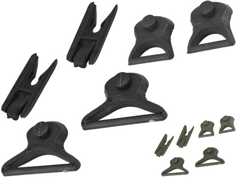 Emerson Goggle Swivel Clips Set for Bump Helmet