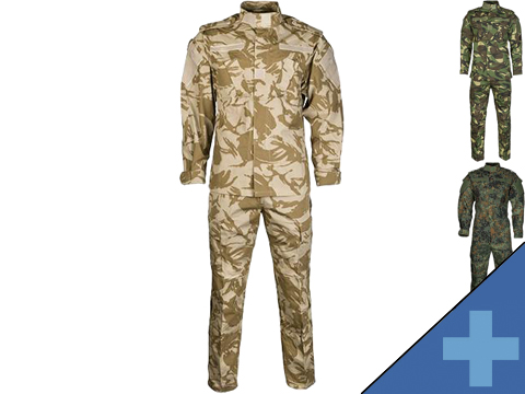 Emerson R6 BDU Field Uniform Set (Color: Desert DPM / Large)