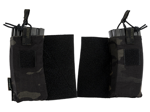 Emerson Gear M4 / Radio Pouch Set for JPC Type vests (Color: Multicam Black)