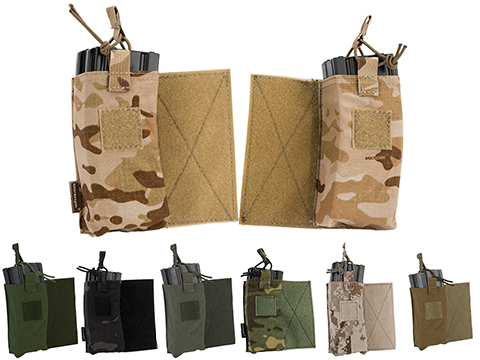 Emerson Gear M4 / Radio Pouch Set for JPC Type vests (Color: Coyote Brown)