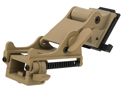 Emerson Gear Rhino Style NVG mount for AN/PVS PVS-14 PVS-7 Type Mock NVGs (Color: Tan)