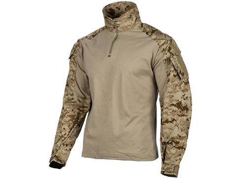 EmersonGear 1/4 Zip Tactical Combat Shirt (Color: AOR1 / Small)