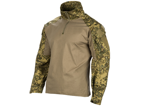 EmersonGear 1/4 Zip Tactical Combat Shirt (Color: Pencott Badland / Large)