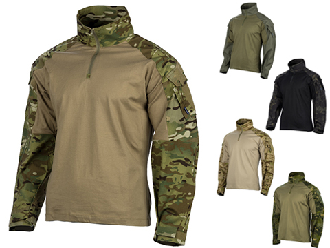 EmersonGear Blue Label 1/4 Zip Tactical Combat Shirt (Color: Multicam / Medium)