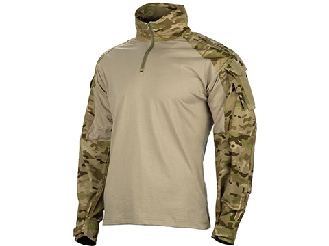 EmersonGear Blue Label 1/4 Zip Tactical Combat Shirt (Color: Multicam Arid / Large)