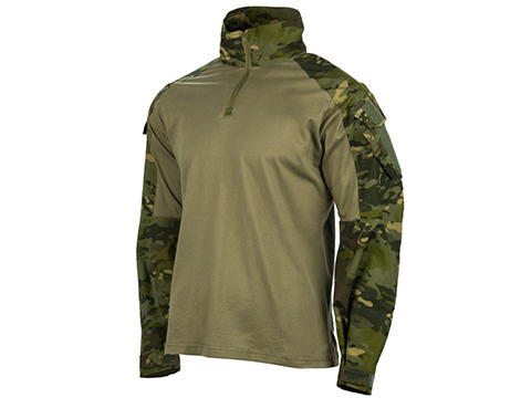 EmersonGear Blue Label 1/4 Zip Tactical Combat Shirt (Color: Multicam Tropic / Medium)