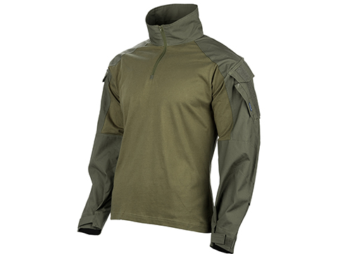 EmersonGear Blue Label 1/4 Zip Tactical Combat Shirt (Color: Ranger Green / Large)