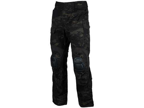 EmersonGear Blue Label Combat Pants w/ Integrated Knee Pads (Color: Multicam Black / Size 36)