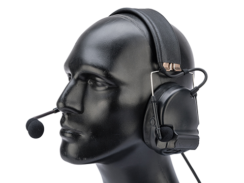 FMA FCS C3 ACH Military Style Noise Canceling Headset (Color: Black)