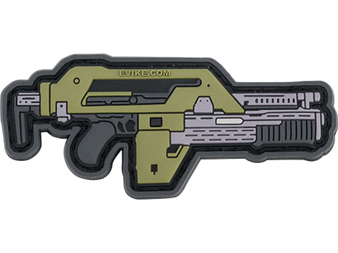 EMG Miniaturized Weapons PVC Morale Patch (Type: Pulse Rifle)