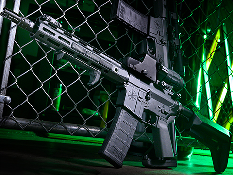 Helios Umbrella Corporation Weapons Research Group Licensed M4 M-LOK Airsoft AEG Rifle