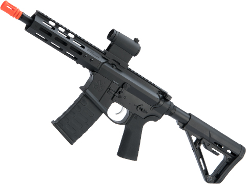 EMG NOVESKE Gen 4 w/ eSilverEdge SDU2.0 Gearbox Airsoft AEG Training Rifle (Model: Pistol / Black)