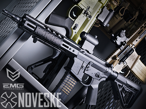 EMG NOVESKE Gen 4 w/ eSilverEdge SDU2.0 Gearbox Airsoft AEG Training Rifle