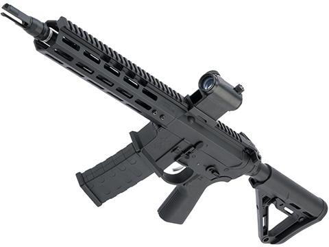 EMG NOVESKE Gen 4 w/ eSilverEdge SDU2.0 Gearbox Airsoft AEG Training Rifle (Model: Shorty / Black / 350 FPS)