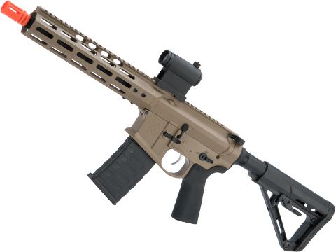 EMG NOVESKE Gen 4 w/ eSilverEdge SDU2.0 Gearbox Airsoft AEG Training Rifle (Model: Shorty / Flat Dark Earth / 350 FPS)