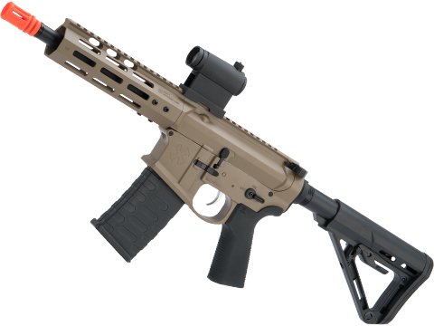 EMG NOVESKE Gen 4 w/ eSilverEdge SDU2.0 Gearbox Airsoft AEG Training Rifle (Model: Pistol / Flat Dark Earth)