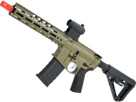 EMG NOVESKE Gen 4 w/ eSilverEdge SDU2.0 Gearbox Airsoft AEG Training Rifle (Model: Shorty / Bazooka Green 350 FPS)