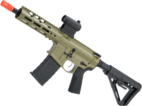 EMG NOVESKE Gen 4 w/ eSilverEdge SDU2.0 Gearbox Airsoft AEG Training Rifle (Model: Pistol / Bazooka Green)