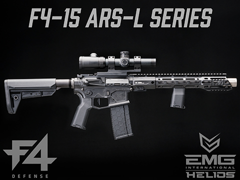 EMG Helios F4 Defense Licensed F4-15 ARS-L MLOK M4 Airsoft AEG Rifle