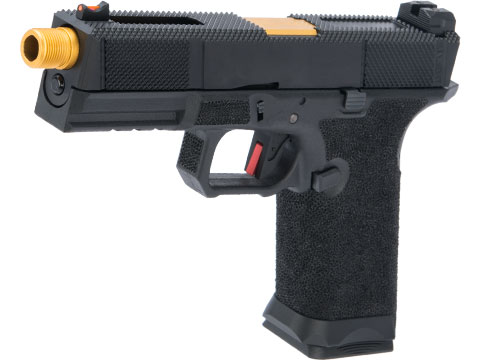 EMG Salient Arms International BLU with EMG Tier One Utility Slide Airsoft GBB Pistol